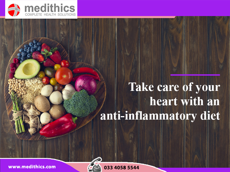 Take care of your heart with an anti-inflammatory diet